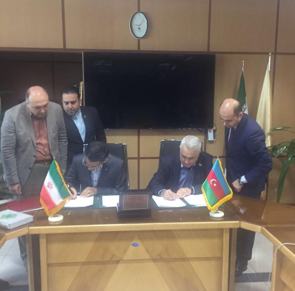 Подписан договор между железнодорожными ведомствами Азербайджана и Ирана
