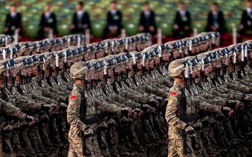 Çinin hərbi büdcəsi 178 milyard ABŞ dolları təşkil edəcək