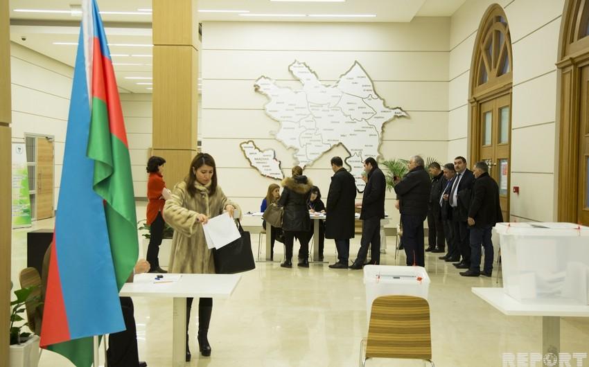 ЦИК Азербайджана обнародовал результаты активности избирателей на 10:00