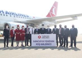 Turkish Airlines возобновила полеты по маршруту Стамбул - Гянджа - Нахчыван