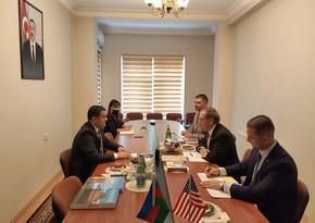 Представитель Нахчывана обсудил с послом США открытие Зангезурского коридора