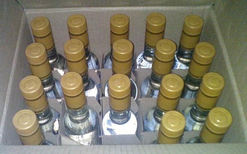 Gürcüstandan gətirilən spirtli içkilər istehlaka yararsız oldu