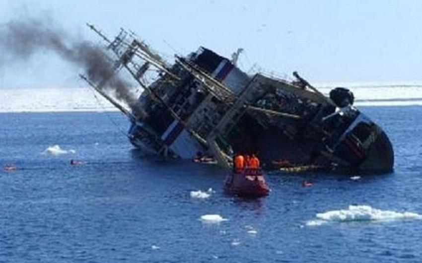 Aralıq dənizində daha bir gəmi batıb