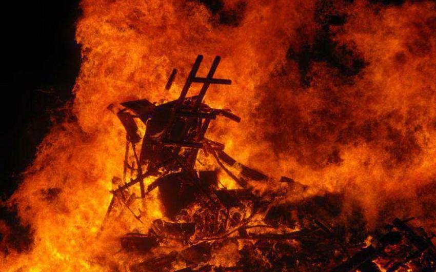 Səudiyyə Ərəbistanında zavodda yanğın nəticəsində 12 nəfər ölüb