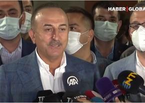 Мевлют Чавушоглу: Болельщики напомнили, кому принадлежит Карабах