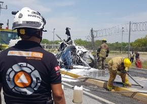 Вертолет разбился на северо-востоке Мексики, есть погибший