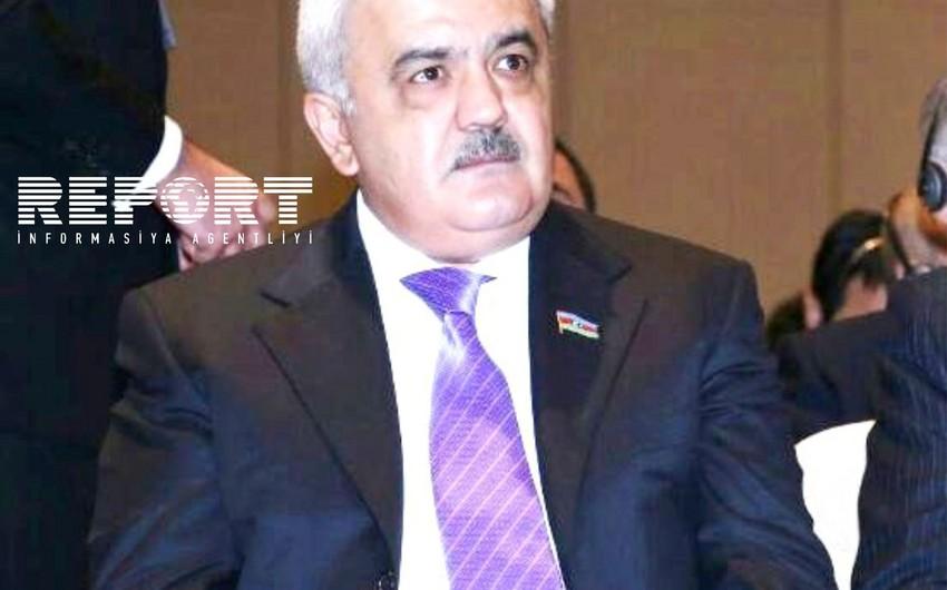 AFFA prezidenti Azərbaycan-Hollandiya matçını izləyir
