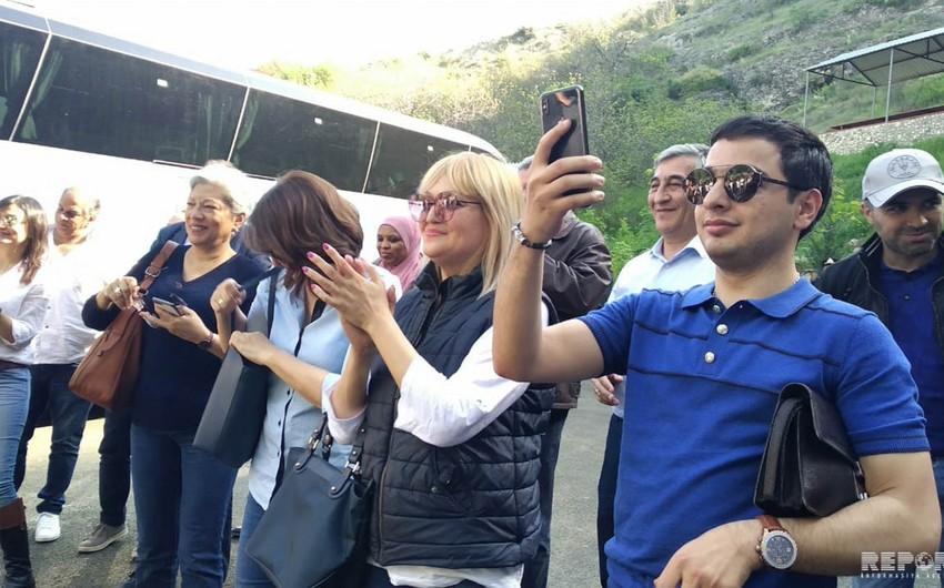 Heads of diplomatic missions visit Azerbaijan's Gazakh - UPDATED