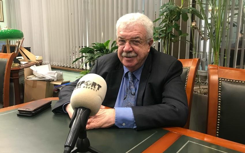 Mixail Qusman Azərbaycanın Birinci vitse-prezidentini təbrik edib