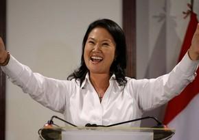 """""""Exit poll"""": Peruda prezident seçkilərində Keyko Fuximori qalibdir"""