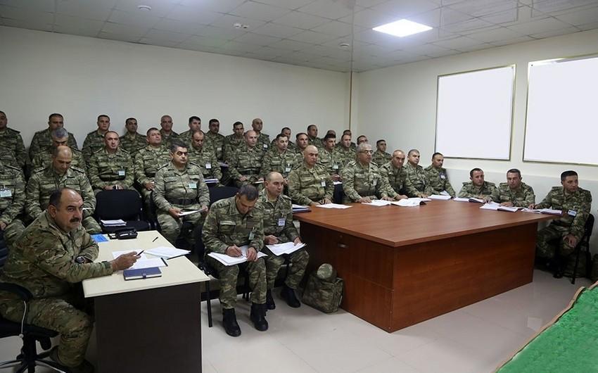 Закир Гасанов провел совещание в связи с учениями Азербайджанской армии - ВИДЕО