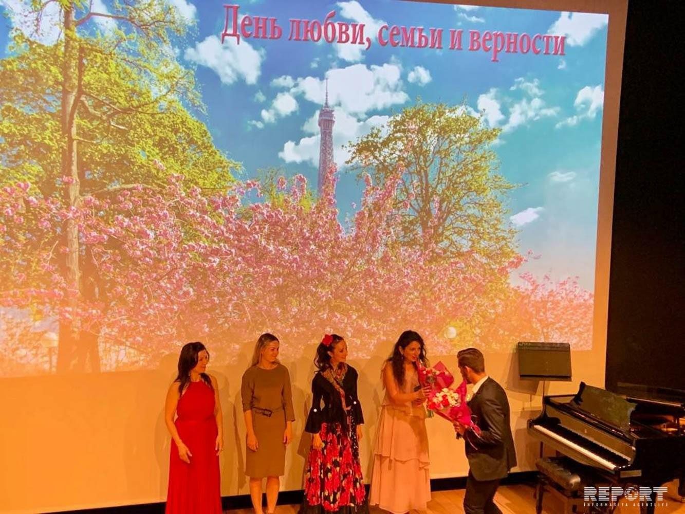 Works of Azerbaijani composers performed in Paris - PHOTO