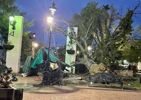 В Мексике 124 тысячи человек остались без света из-за сильного шторма