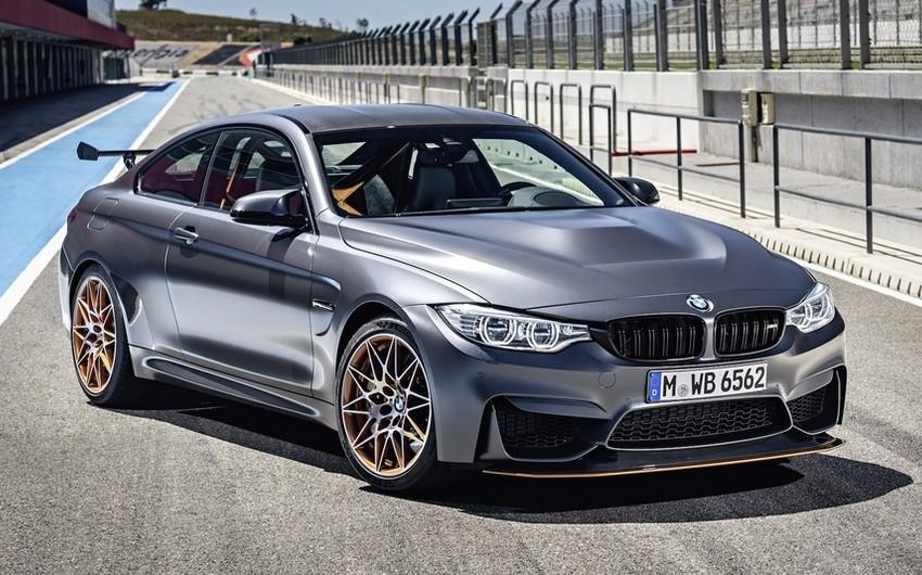 BMW su injektorlu mühərrikə malik M4 GTS modelini hazırlayıb - FOTO