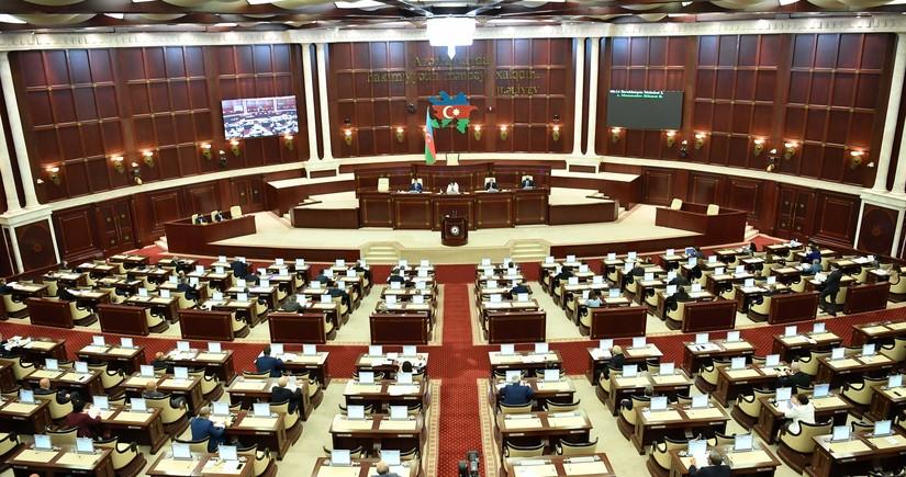 Milli Məclisin sabahkı iclasının gündəliyi açıqlandı