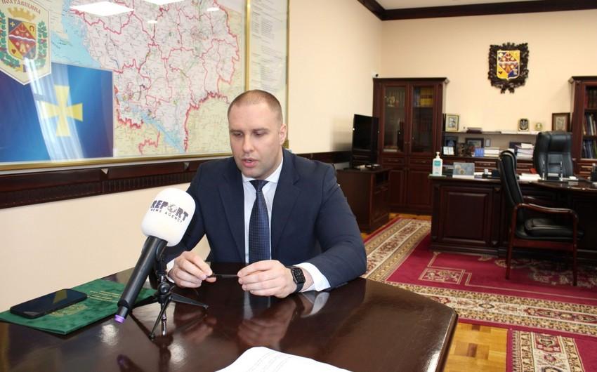 """Poltava vilayətinin qubernatoru: """"Xocalı faciəsini unutmaq mümkün deyil"""" - VİDEO"""