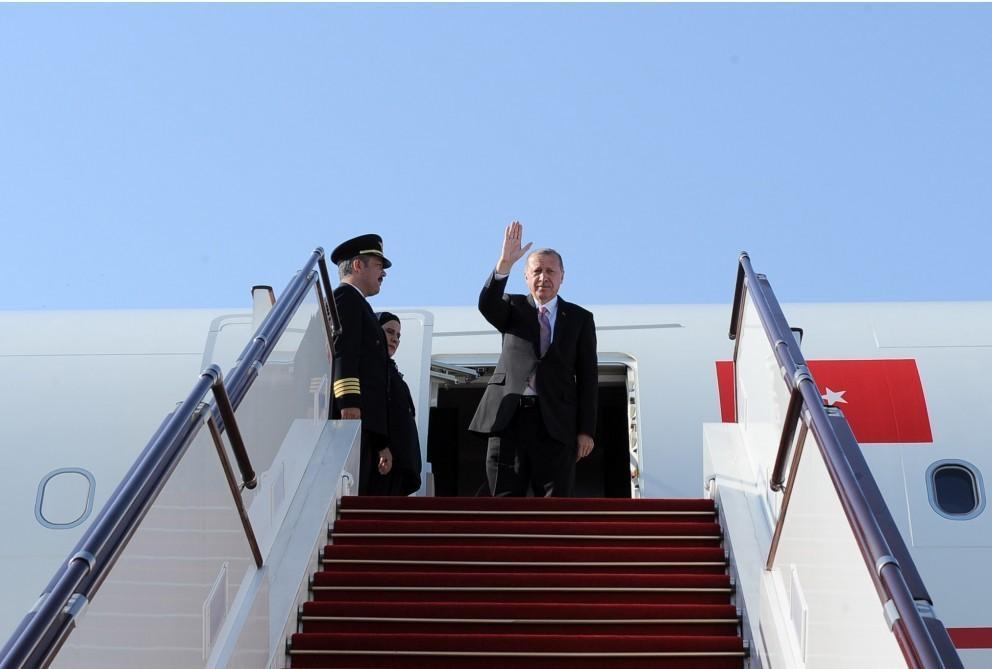 Завершился официальный визит Реджепа Тайипа Эрдогана в Азербайджан
