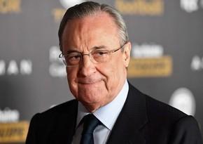Florentino Peres: Super Liqanın yaradılması futbolun xilasına kömək edəcək