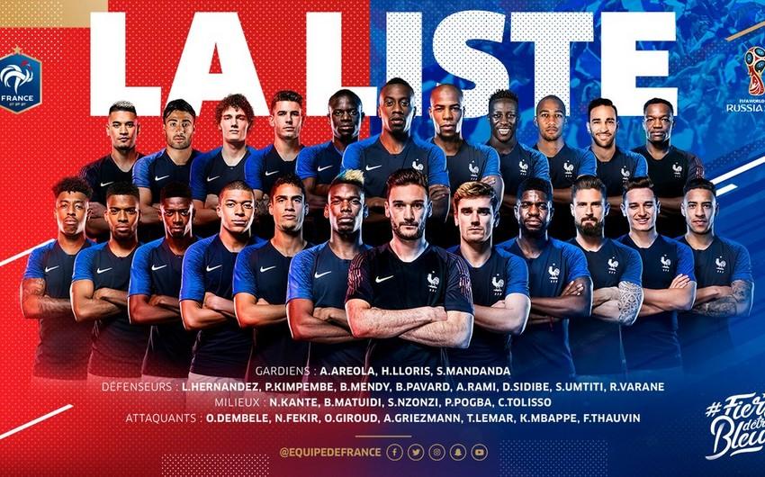 Сборная Франции огласила заявку на чемпионат мира 2018 - СПИСОК
