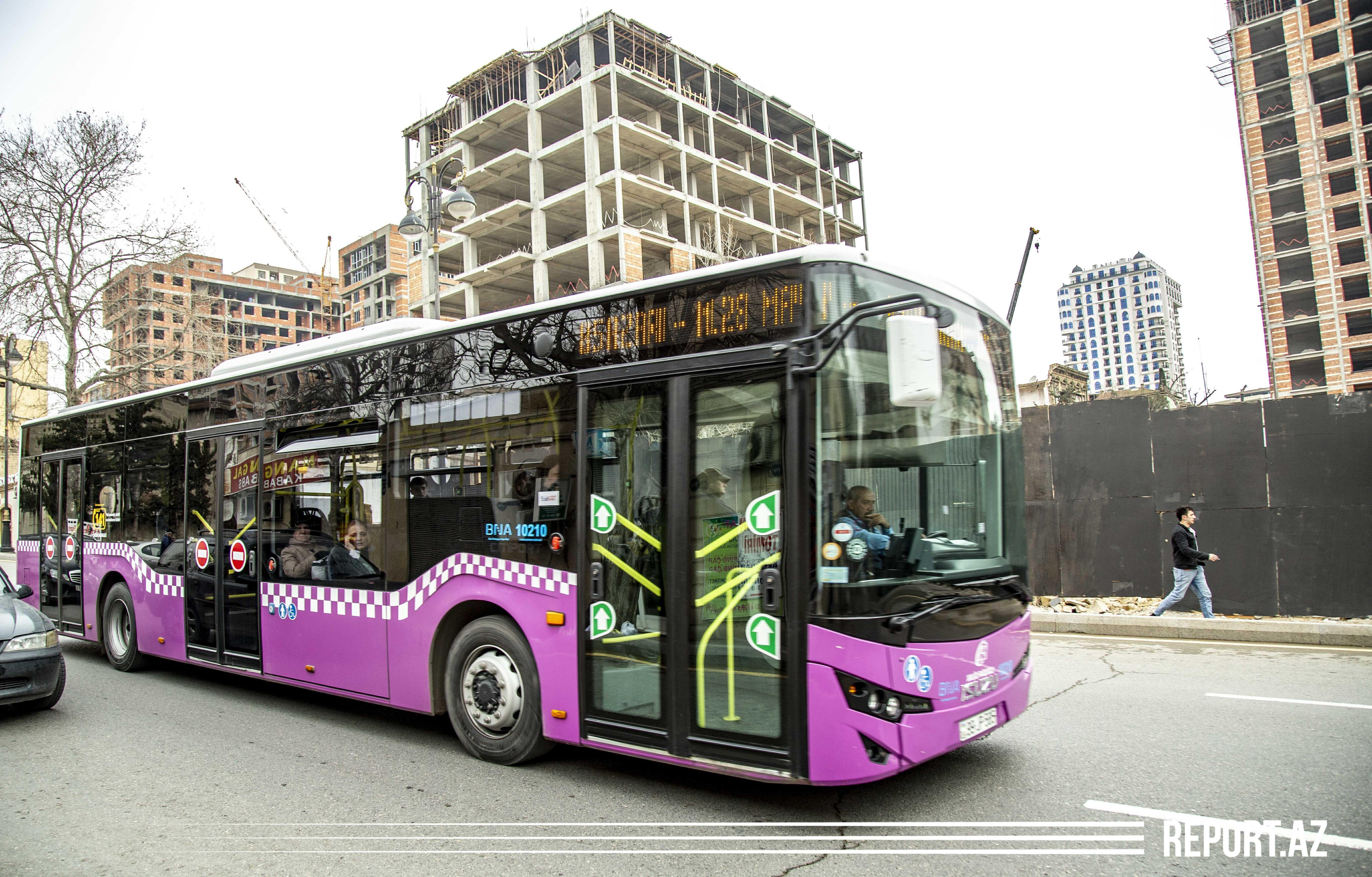 Движение общественного транспорта прекращено в 8 городах и районах