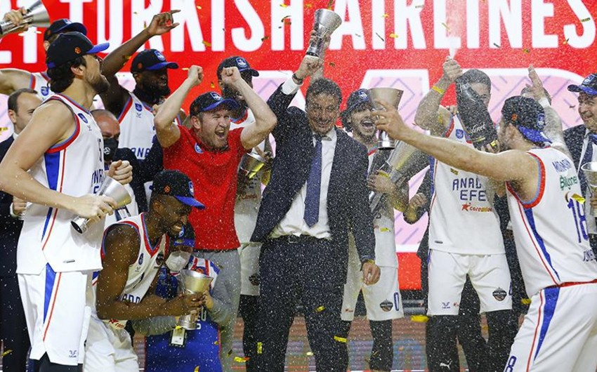 Anadolu Efes basketbol üzrə Avro Liqa çempionu oldu