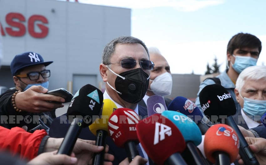 Azerbaijani deputy FM comments on first delivery of Sputnik V vaccine