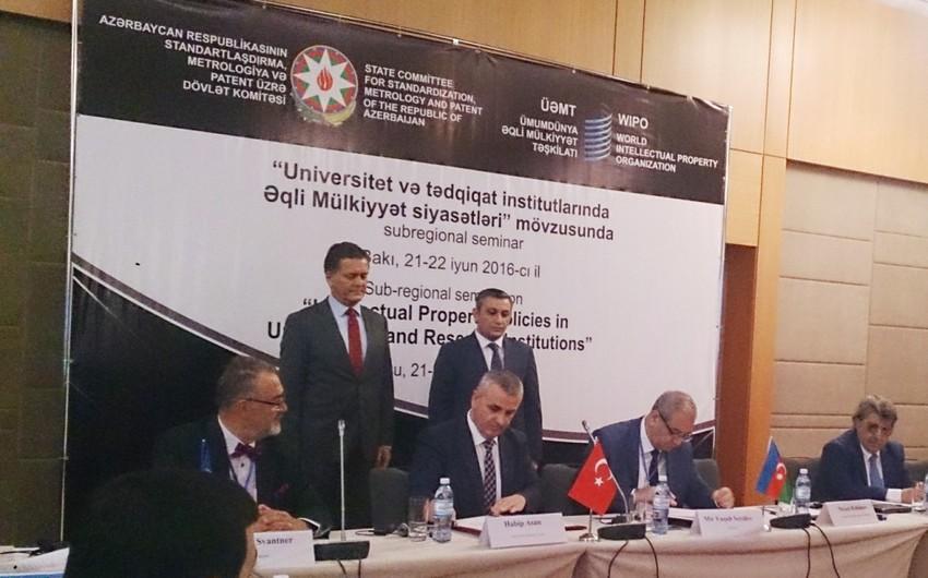 AzPatent və Türk Patent İnstitutu arasında memorandum imzalanıb