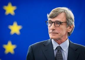 David Sassoli criticizes Council of Europe for ignoring Karabakh conflict