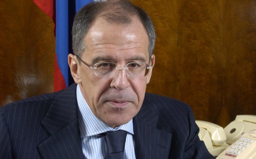 Sergey Lavrov: Azərbaycanla Ermənistan jurnalistlərinin qarşılıqlı səfərlərinin təşkilinə dair dialoq aparılır