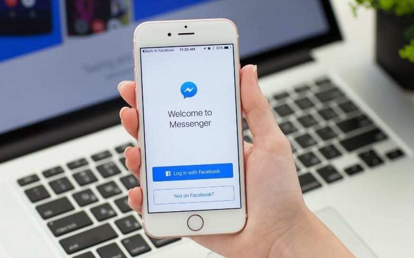 """""""Facebook"""" """"Messenger"""" əlavəsini təkmilləşdirib"""