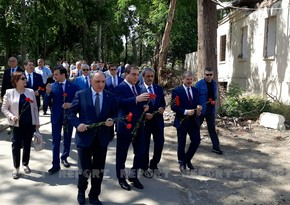 Prosecutors General of Azerbaijan and Turkey visit area in Ganja hit by Armenian-fired missile