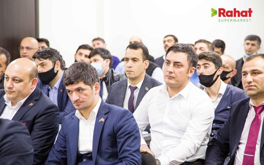 """""""Rahat"""" supermarketlər şəbəkəsində QƏLƏBƏ SEVİNCİ"""
