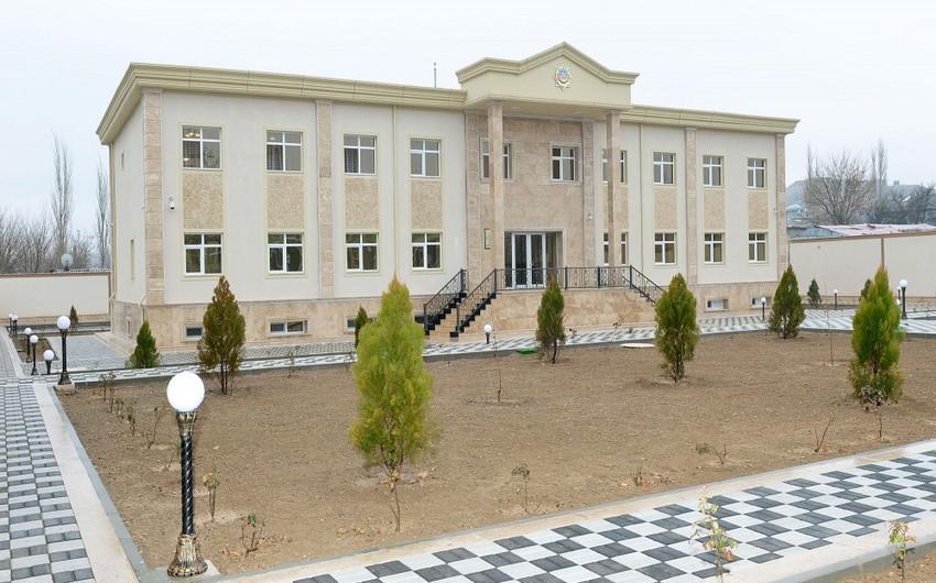 DTX-nın Culfa Rayon Şöbəsinin inzibati binası istifadəyə verilib