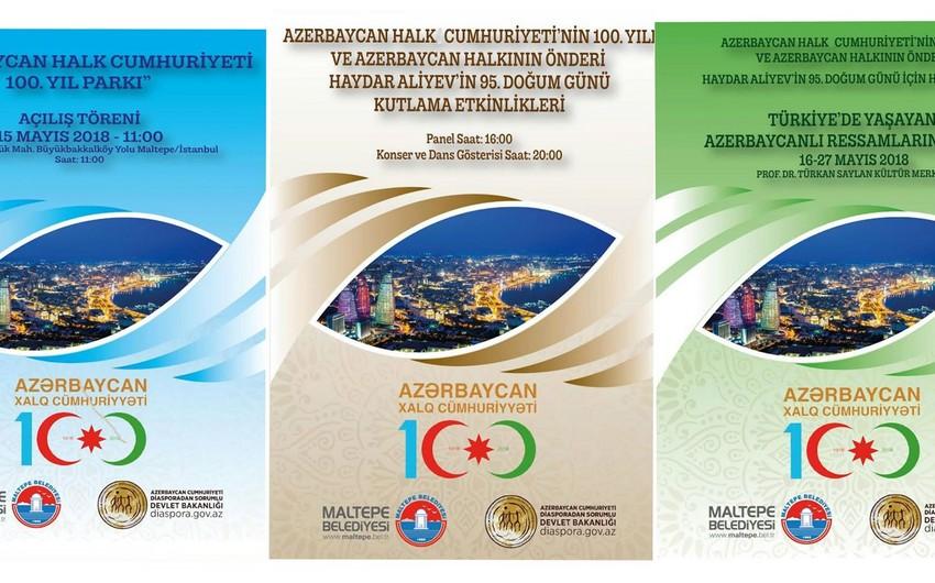 İstanbulda Azərbaycan Xalq Cümhuriyyəti parkı açılacaq