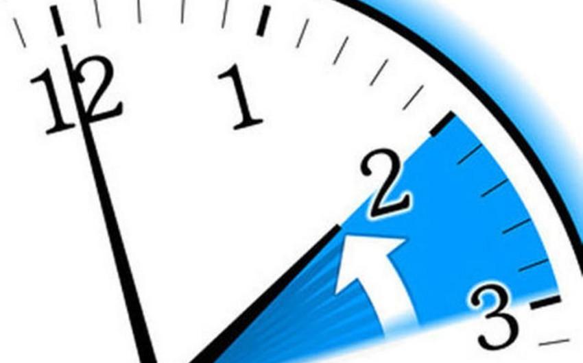 Завтра в Азербайджане будет отменено летнее время