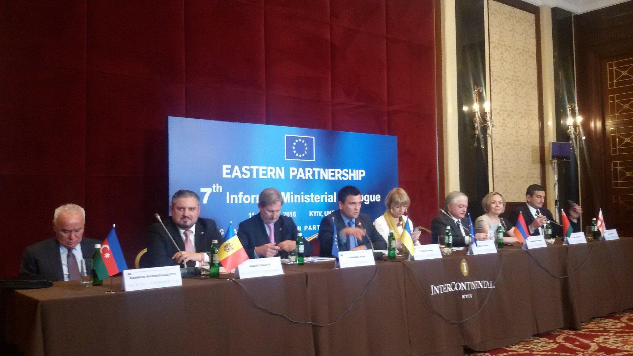 В Киеве состоялось неформальное заседание глав МИД стран Восточного партнерства