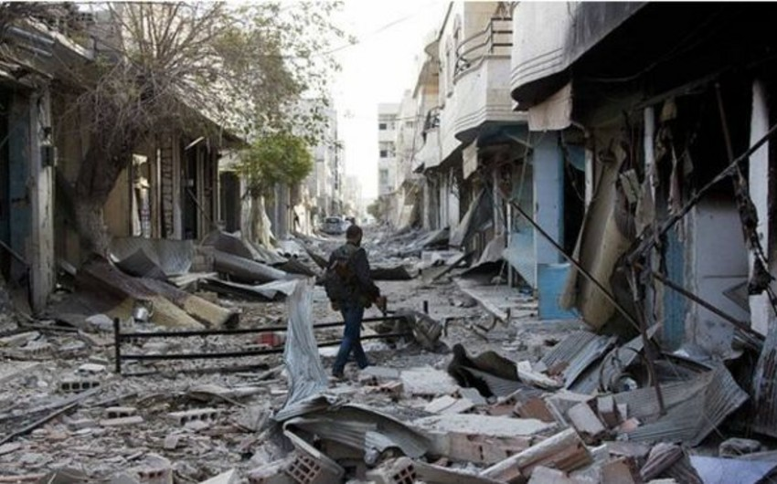 Kürd döyüşçülər Kobani şəhərinin 80 faizinə nəzarət edir