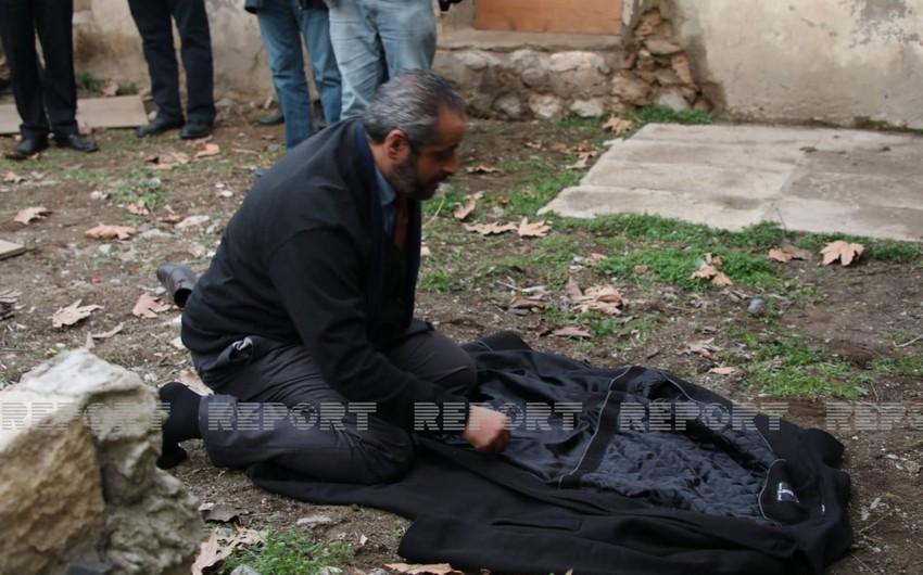 Liviyalı diplomat Zəngilanda dağıdılmış məsciddə namaz qıldı