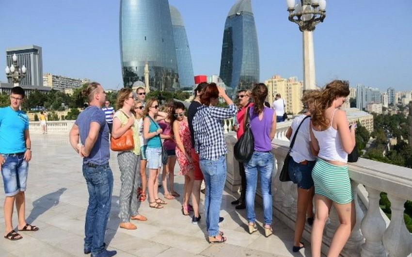 Ötən il Azərbaycana 2 milyon 850 min turist gəlib