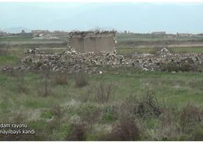 Footage from Ismayilbeyli village of Aghdam