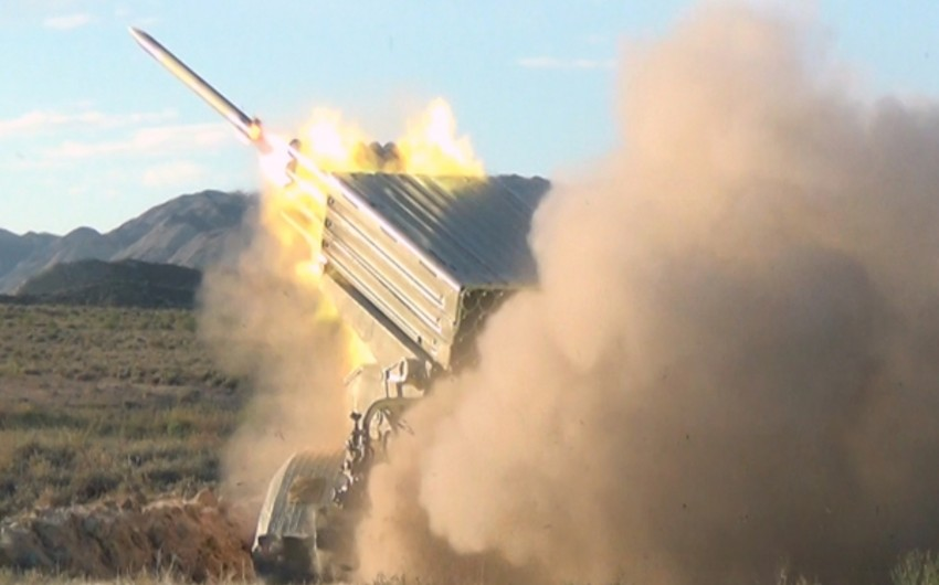 Main stage of exercises with live-fire are held in Azerbaijan