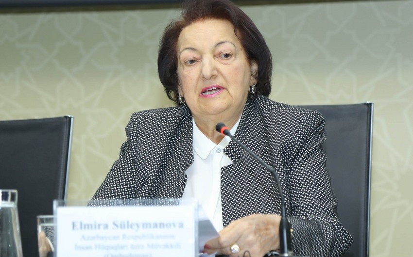 Elmira Suleymanova: 70 percent of proposals submitted to the government were fulfilled, 699 prisoners were released