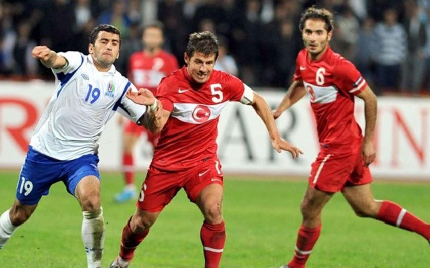 Сборная Азербайджана проведет товарищескую встречу с Турцией