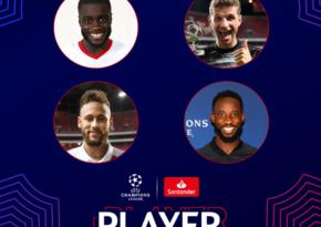 Объявлены претенденты на звание игрока недели в ЛЧ