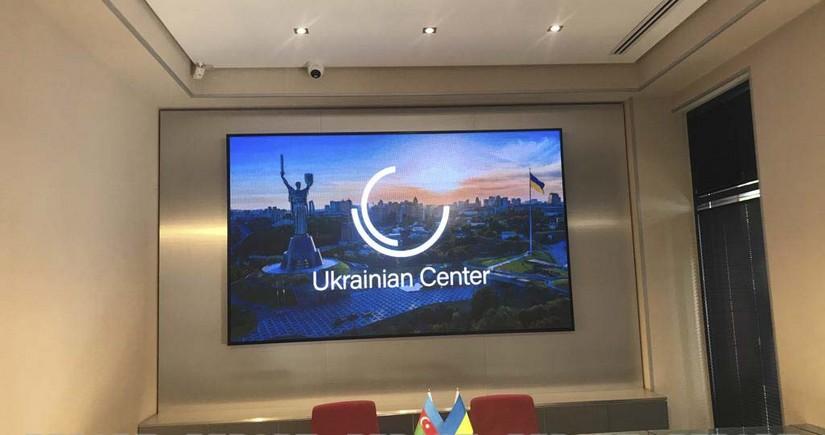 Bakıda Ukrayna Mərkəzi açılıb