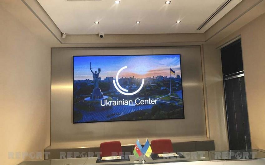Bakıda Ukrayna Mərkəzi açıldı-