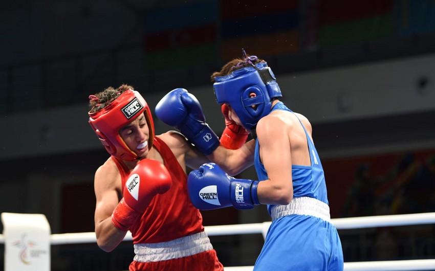 MDB Oyunları: Azərbaycanın iki boksçusu yarımfinala yüksəlib