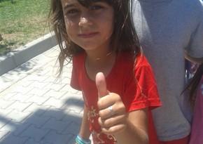 İraqdan Türkiyəyə gələn 9 yaşlı Fatma