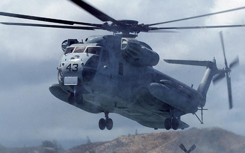 ABŞ-ın hərbi helikopteri qəzaya uğrayıb