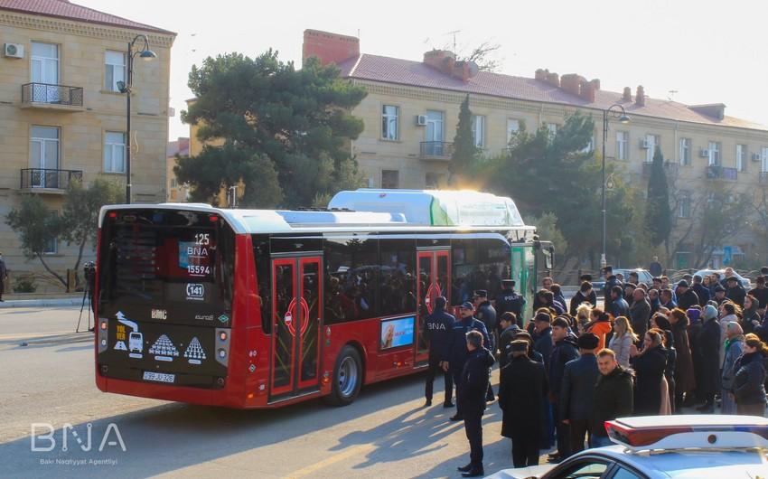 BNA-dan avtobuslarda müşahidə edilən sıxlıqla bağlı açıqlama